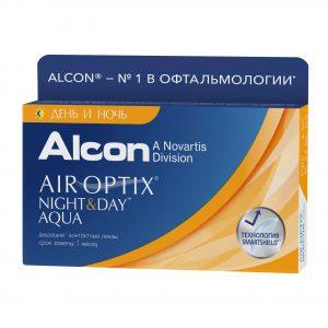 Air Optix Night&Day Aqua (3 линзы)