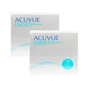 Acuvue Oasys 1-Day with HydraLuxe (180 линз)