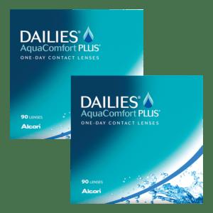Dailies AquaComfort Plus (180 линз)