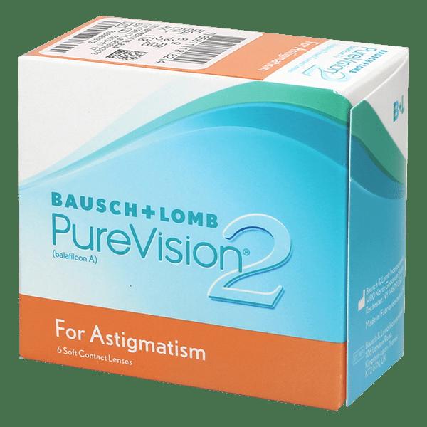 PureVision 2 for Astigmatism (6 линз)